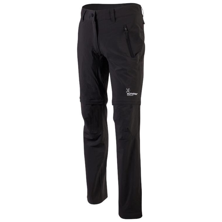 Klimatex Outdoorové ZIP-OFF kalhoty INGELE small černá