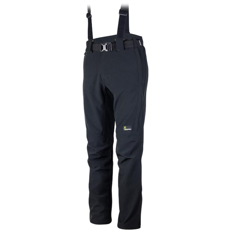 Klimatex Softshellové zimní kalhoty LESSER small černá