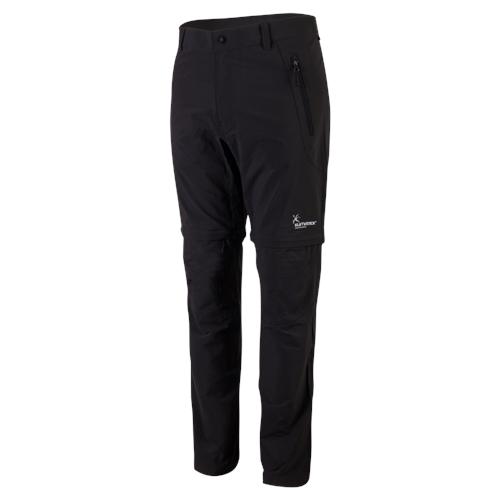 Klimatex Outdoorové ZIP-OFF kalhoty ERICH medium černá