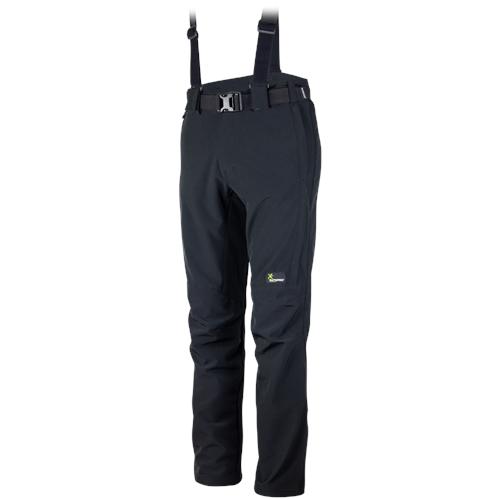 Klimatex Softshellové zimní kalhoty LESSER medium černá