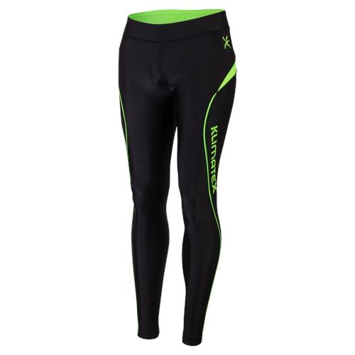 Klimatex Běžecké kalhoty TAIKI small černá se zelenou
