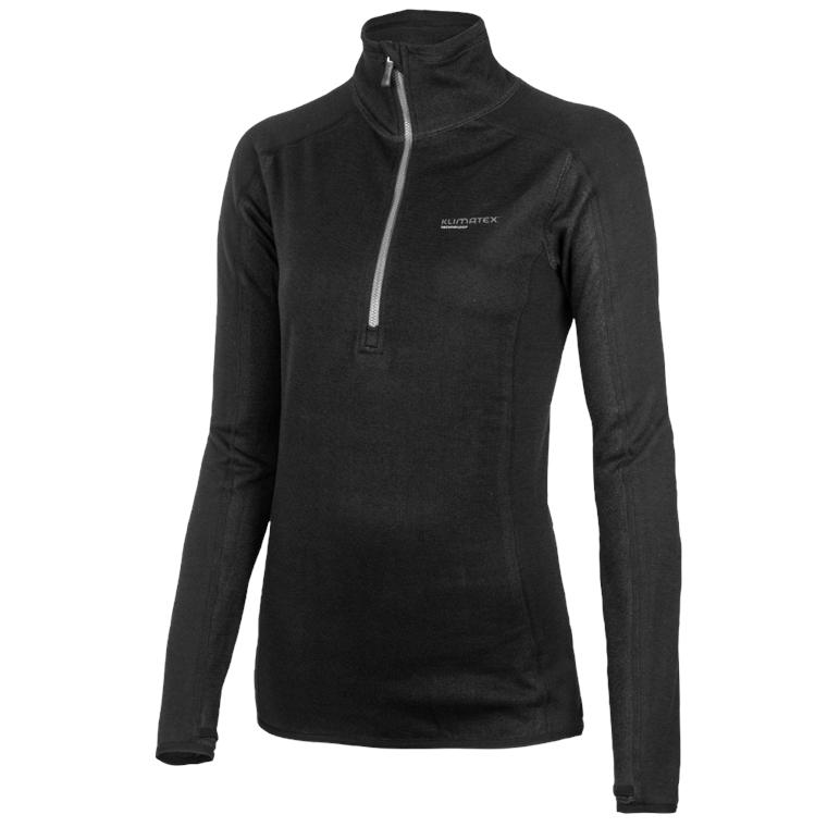 Dámský pulovr se zipem ANNA S černá