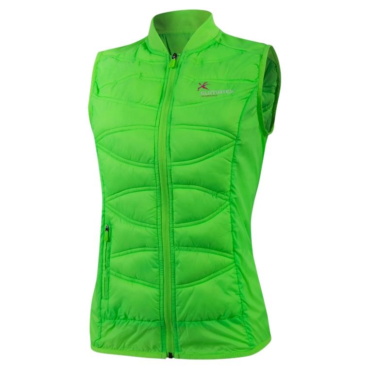 Ultralehká vesta TABITA L sv. zelená